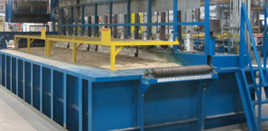 Immersion Burner Galvanizer